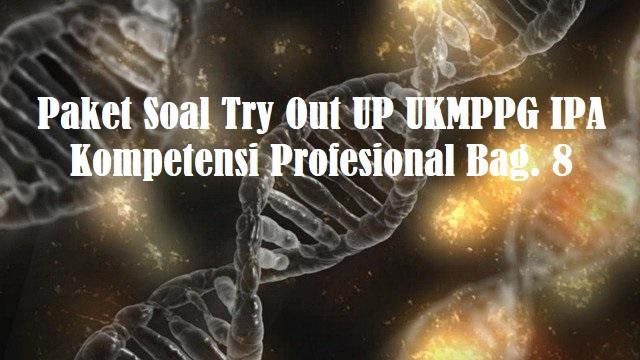 Paket Soal Try Out UP UKMPPG IPA Kompetensi Profesional Bag. 8