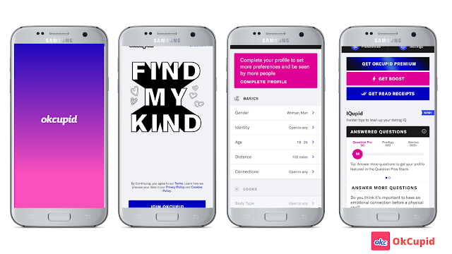 Okcupid best dating apps for Android - you must know!!!