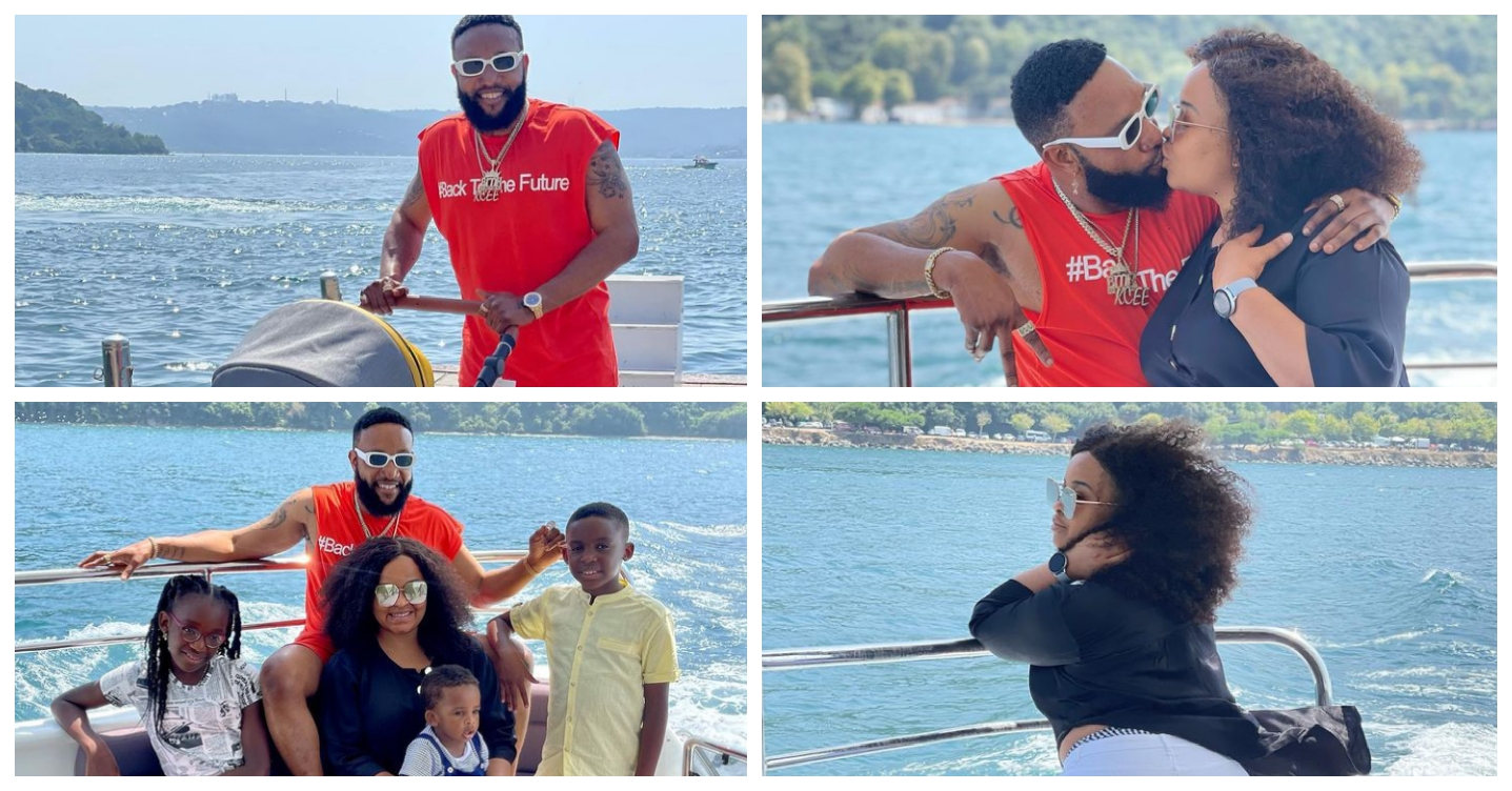 Nine Adorable Pictures Of Kcee And His Beautiful Family
