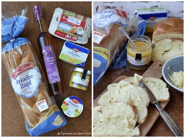 Experimente aus meiner Küche: Pflaumen-Brioche-Auflauf