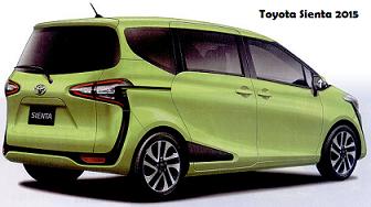 Toyota Sienta 2015