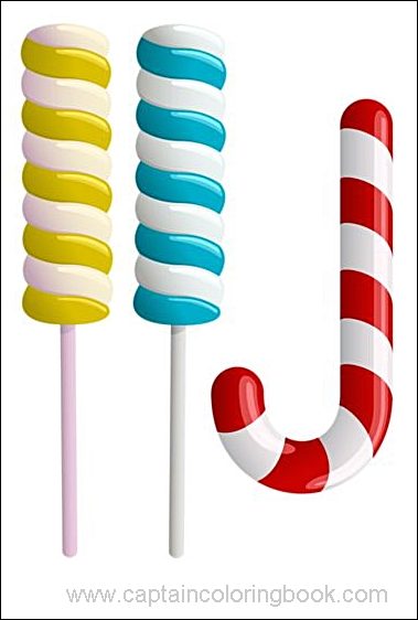 Multicolor Lollipop Stock