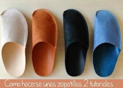 Como hacerse unas zapatillas