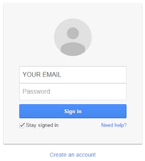 Blogger sign in with gmail\