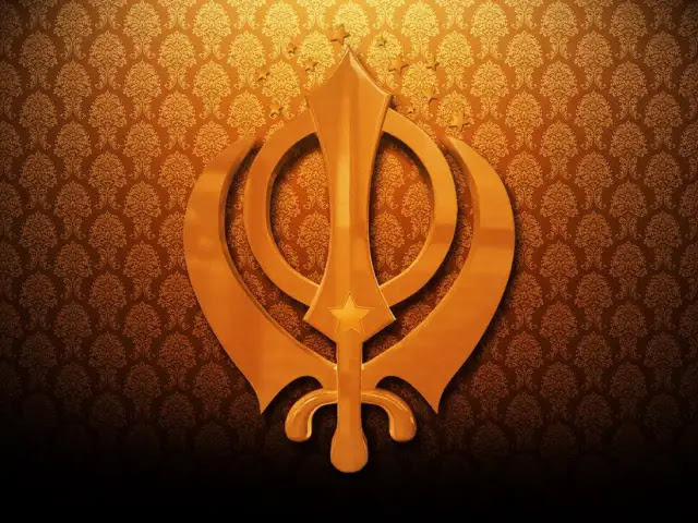खंडा खालसा का प्रतीक चिन्ह - Khanda Sikh Symbol in Hindi