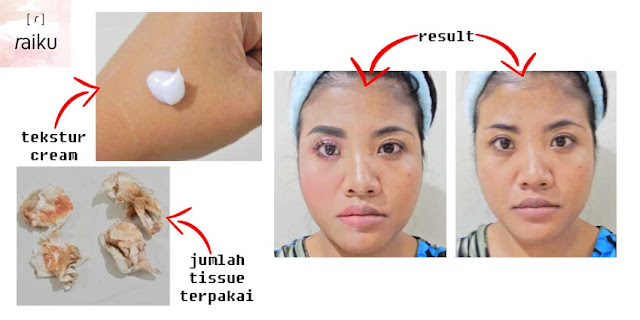 raiku cleansing cream