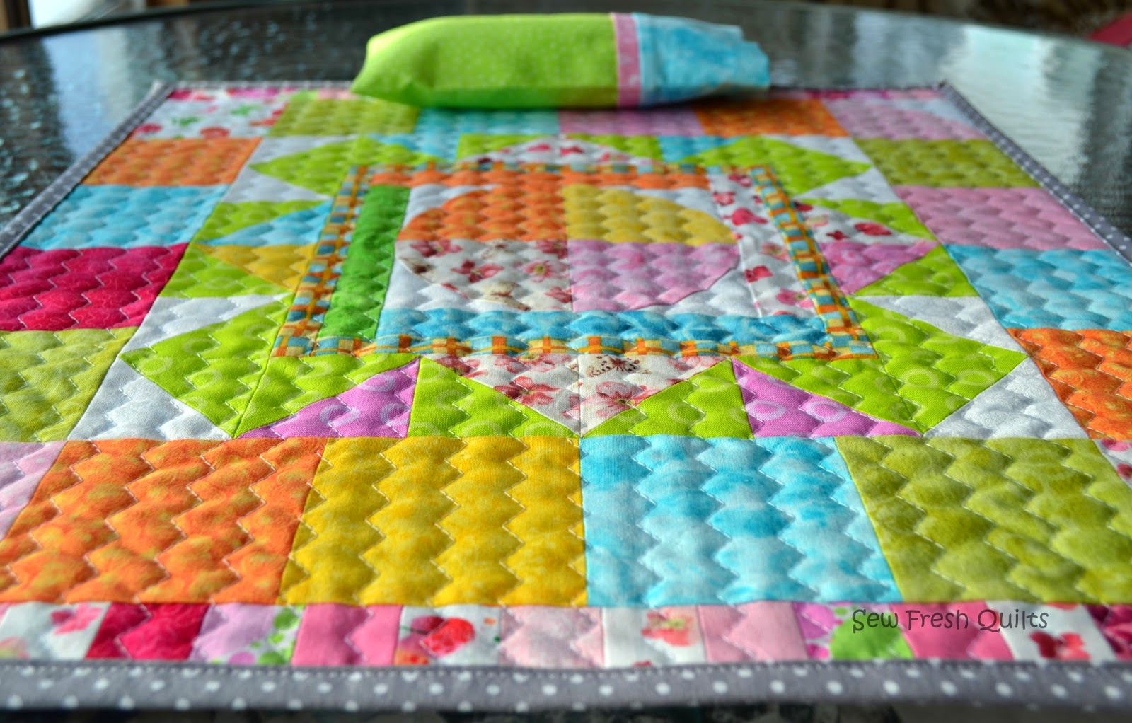 Sew Fresh Quilts Pillow Case Tutorial With French Seams