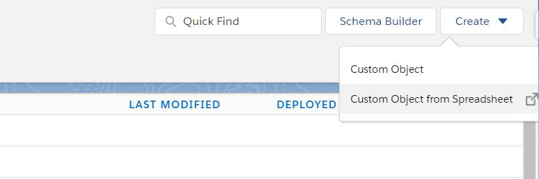 Create Object From Spreadsheet using Lightning Object