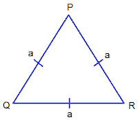 Equilateral Triangle PQR