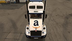 Kenworth T800 Amazon skin