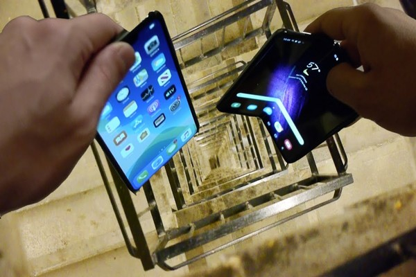 Nokia 3310 و iPhone 11 Pro Max و Samsung Galaxy Fold في اختبار السقوط (فيديو)