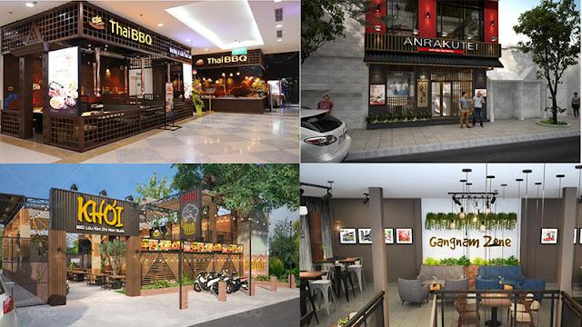 Thiết kế nhà hàng Hàn Quốc có cần quan tâm đến cách đặt tên không?