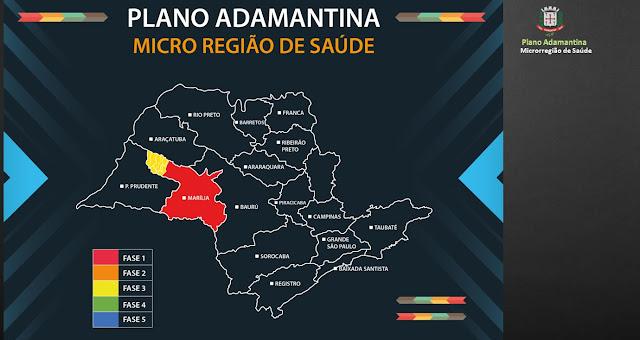 Prefeitura cria 'Plano Adamantina' para justificar reabertura do comércio ao Tribunal de Justiça de São Paulo