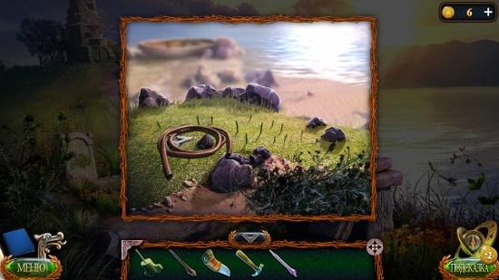 в кустах лежат шланг с деталью в игре затерянные земли 4 скиталец