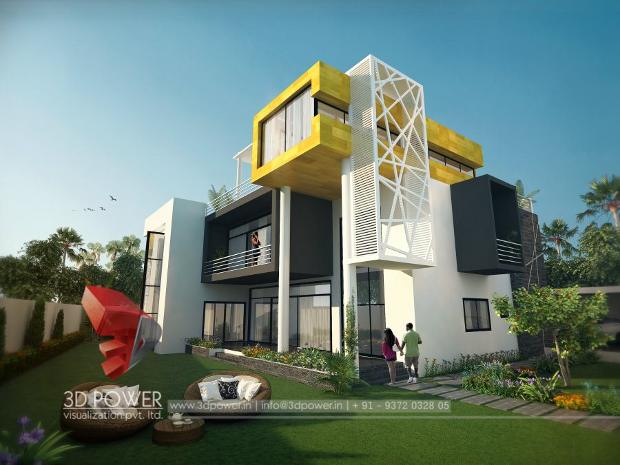 Ultra modern home designs home designs 3d exterior home for Modern day house designs