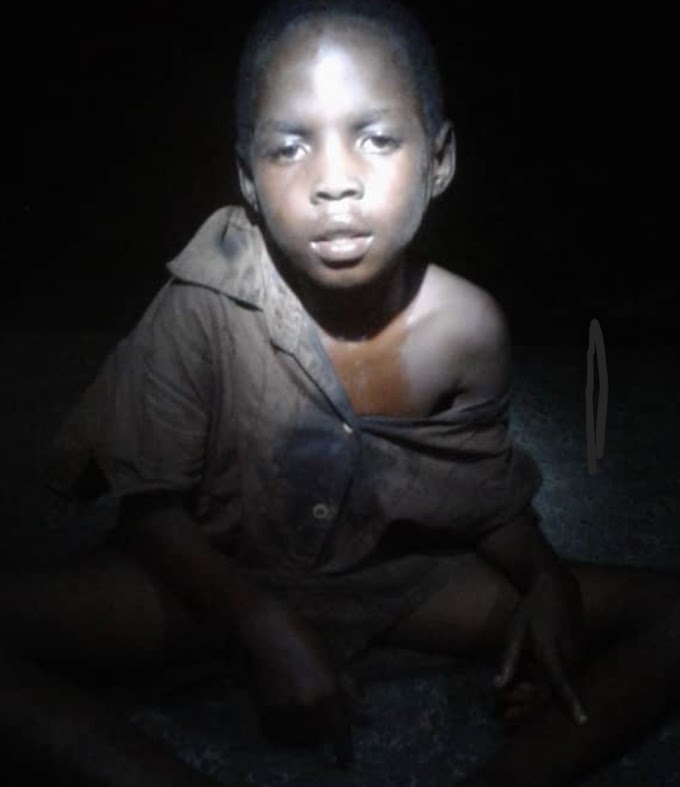 In Akwa Ibom, abandoned boy rescued after allegedly  exorcised of withcraft.