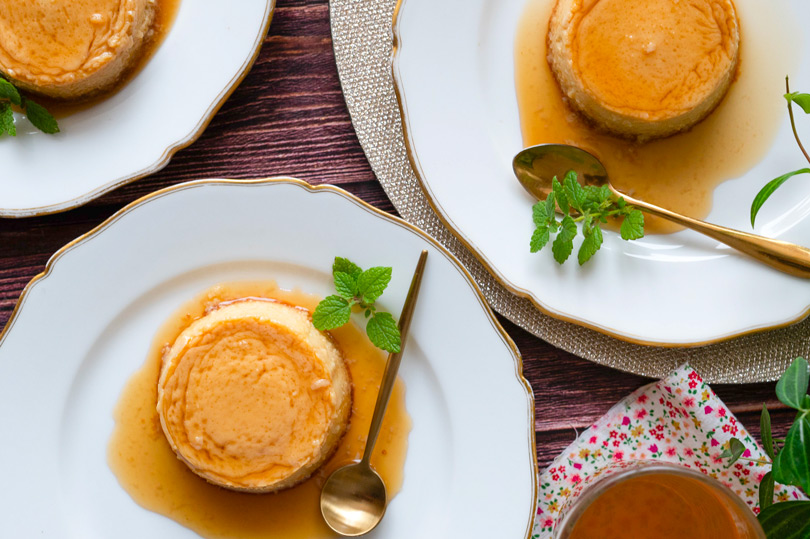 recette Flan au miel
