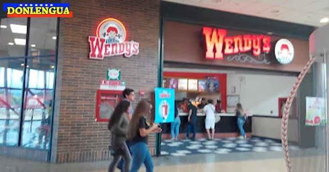 ADIOS | Wendy's se va de Venezuela para siempre el próximo 30 de marzo