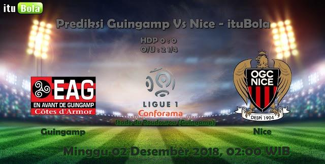 Prediksi Guingamp Vs Nice - ituBola