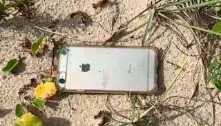 दो हजार फीट की ऊंचाई से गिरने के बाद भी iPhone पूरी तरह सुरक्षित है