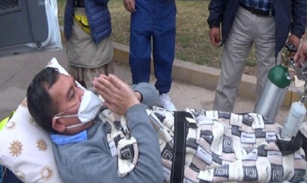 ¡Gran alegría! médico vence al covid-19 en Hospital Regional de Cusco