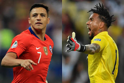 مشاهدة مباراة تشيلي وبيرو بث مباشر اليوم