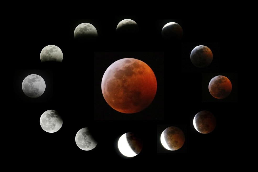 Eclipse com 'superlua' será visível na América Latina nesta quarta; veja horários!