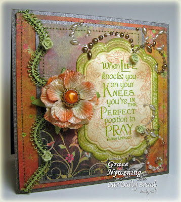 "Our Daily Bread designs ""Full of Grace Collection - Pray"" Designer Grace Nywening"