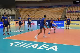 Em preparação para a etapa de Cuiabá da Liga das Nações de Vôlei masculino, Brasil realiza primeiro treino