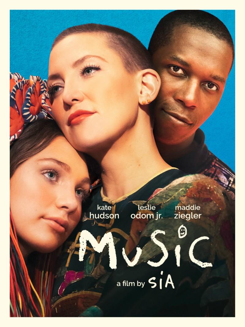 music sia kate hudson poster
