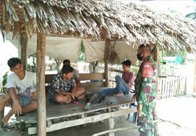Sabut Bulan Suci Ramadhan, Personel Jajaran Kodim 0208/Asahan Sasarkan Komsos Kepada Warga Masyarakat Desa Binaan