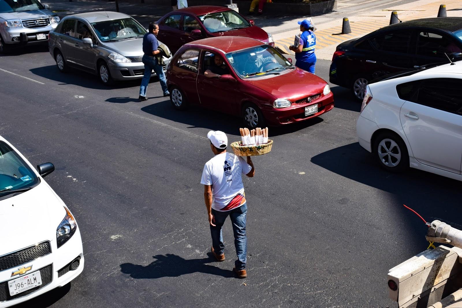 churro delivery man