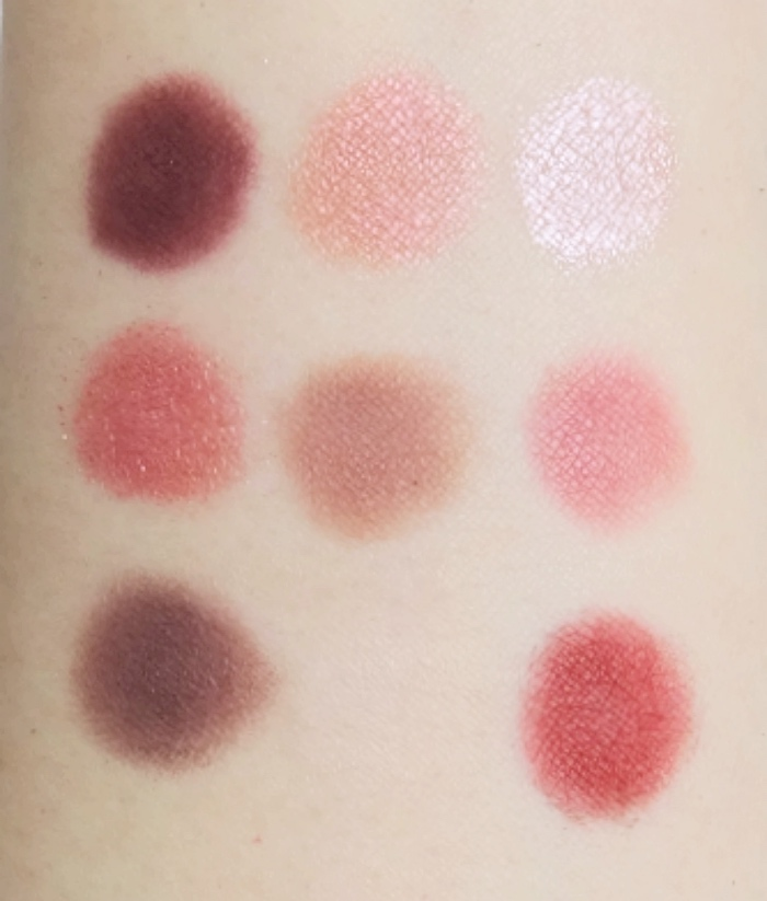 Huda Beauty Mauve Obsessions swatch