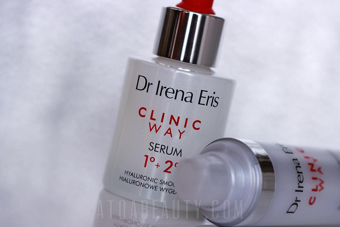 Dr Irena Eris, CLINIC WAY, Hialuronowe wygładzenie, Dermoserum przeciwzmarszczkowe