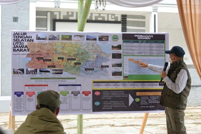 DPRD Jabar Dorong Percepatan Pembangunan Jalur Tengah Selatan Sepanjang 357,00 km.