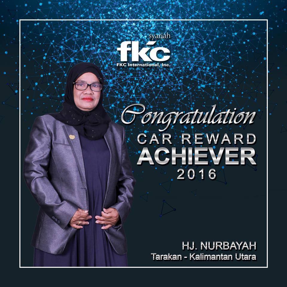 Bisnis Fkc Syariah - Reward Hj. Nurbayah