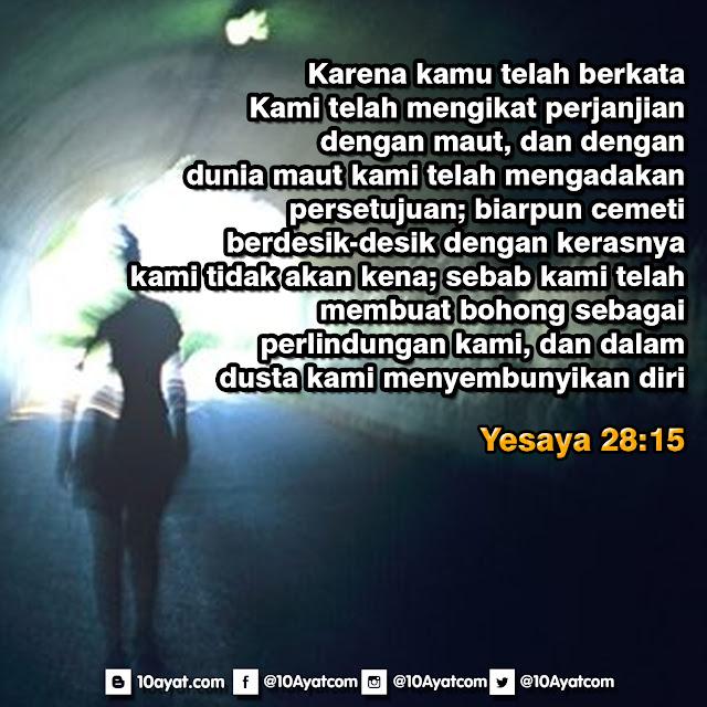 Yesaya 28:15
