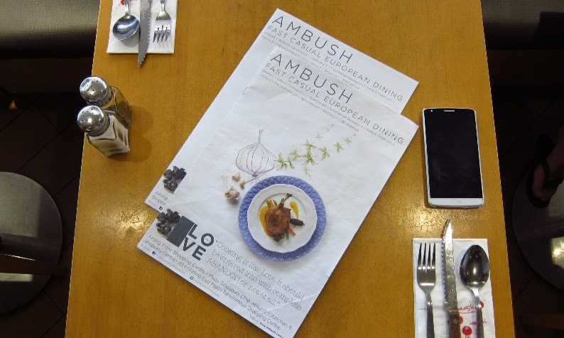 Ambush Restaurant: Casual European Dining
