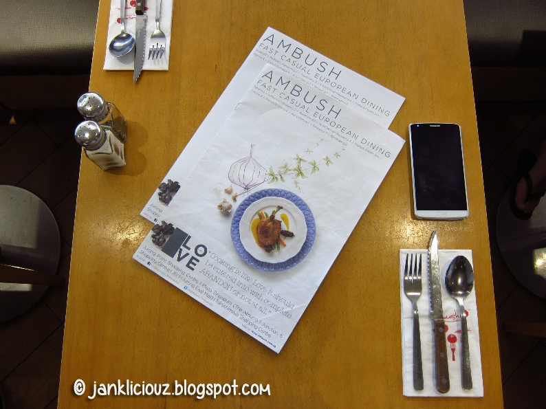 Ambush Restaurant: Casual European Dining