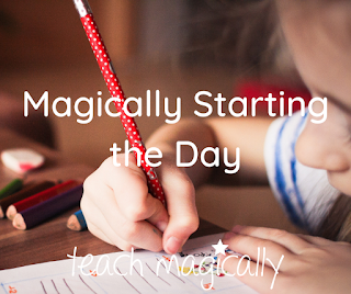 The Best Way to Teach Routines to Start the Day Magically