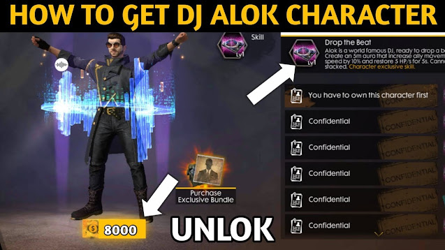 How To Get Free DJ Alok Character