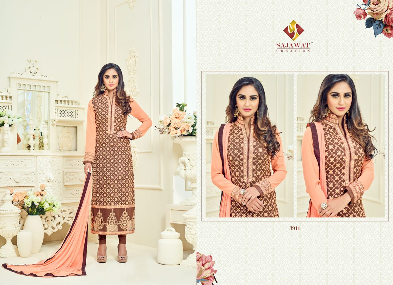 Krystle Vol 1 – Straight Designer New Stylish Salwar Kameez