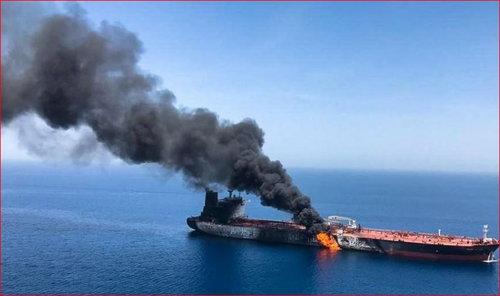 البنتاجون نركز على بناء إجماع دولي بعد الهجمات على ناقلات النفط