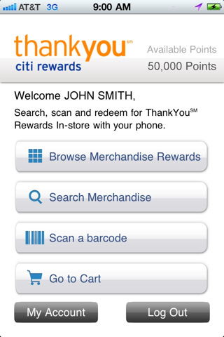 Citi ThankYou Rewards