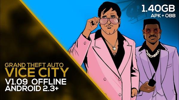 Grand Theft Auto Vice City APK + OBB v1.09 Download