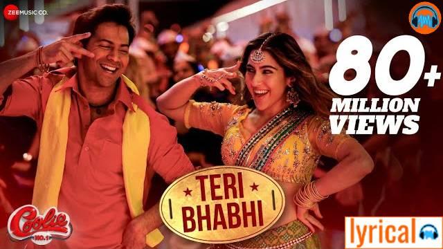 Teri Bhabhi Lyrics – Coolie No. 1   Javed - Mohsin