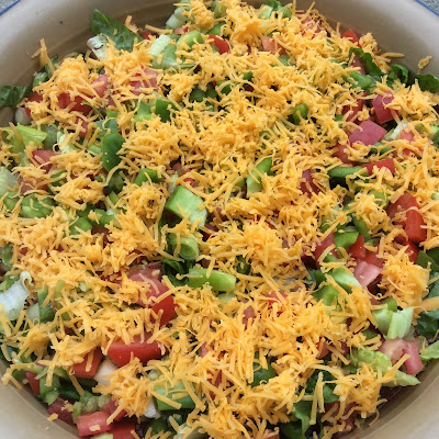 Seven Layered Dip Recipe - Meetup Monday