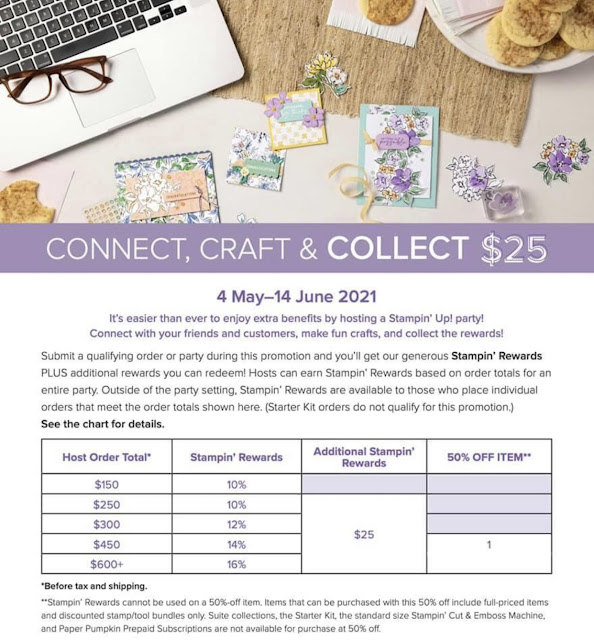 Table of Stampin' Rewards from Stampin' Up!