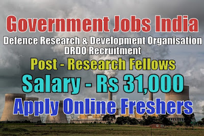 Defence DRDO Recruitment 2020