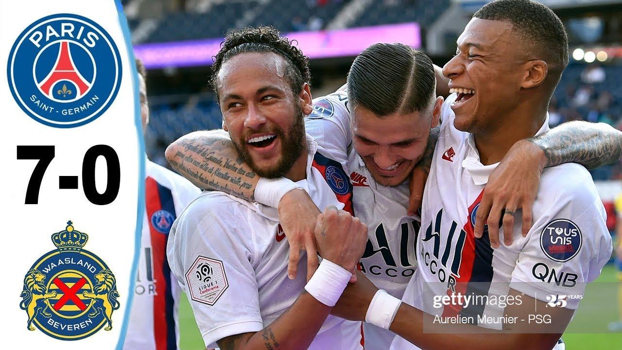 Video Paris Saint Germain 7-0 Waasland Beveren: Thêm một chiến thắng hủy diệt